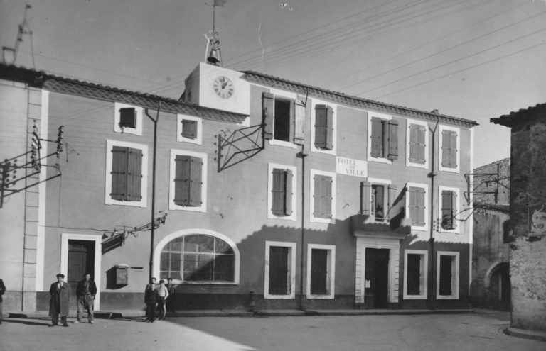 Ancienn mairie Cers vers 1950