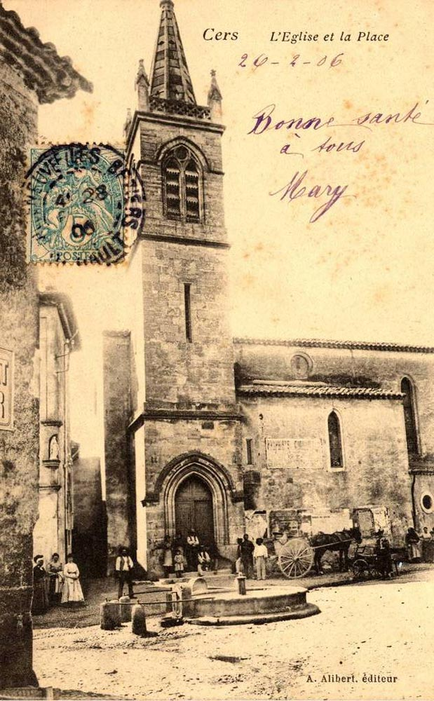 Eglise Cers 1906