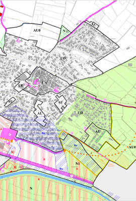 Plan village Cers