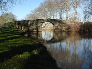 Pont de Caylus Canal du Midi Cers