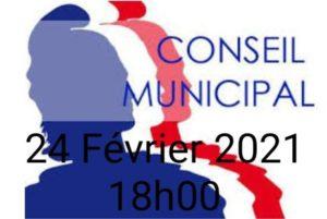 Premier conseil municipal de l'année 2021