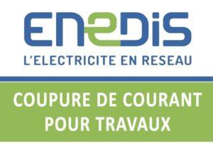 ENEDIS : coupures pour travaux les 5 et 12 mai 2021