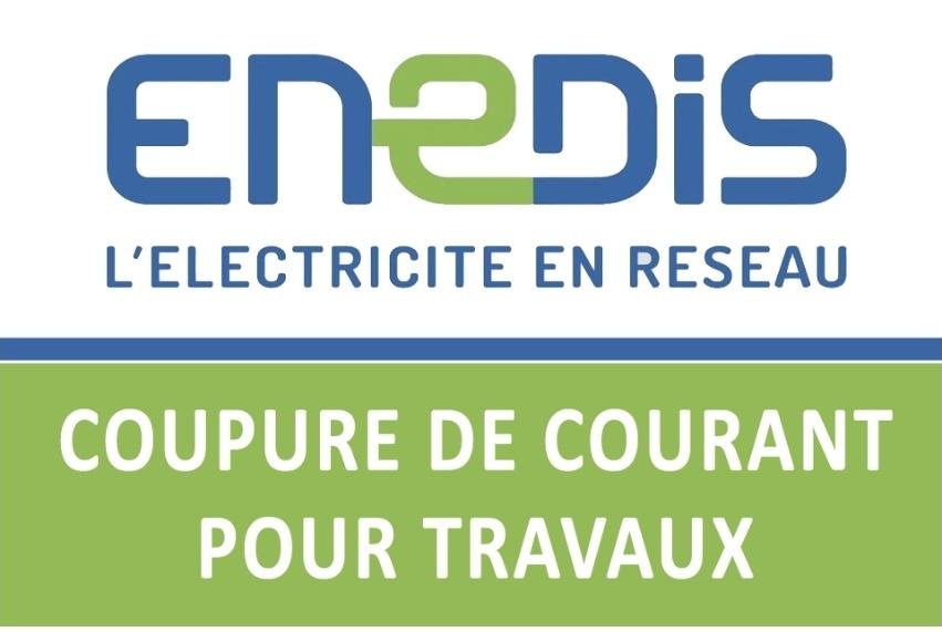 ENEDIS : COUPURES POUR TRAVAUX