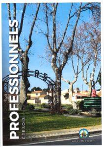Read more about the article Le Guide des Professionnels cersois est en ligne
