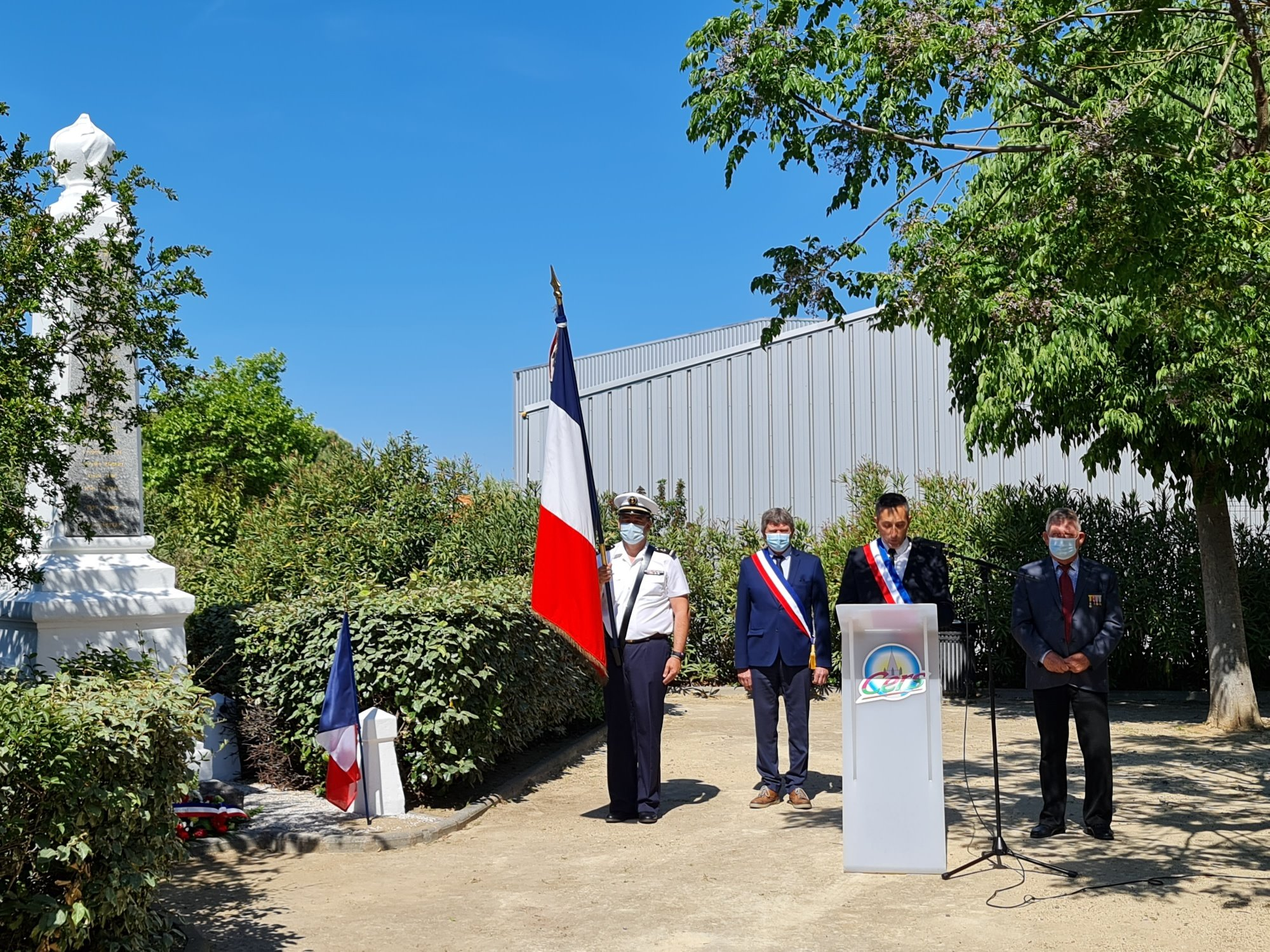 Commémoration du 8 mai : discours du Maire, Didier Bresson