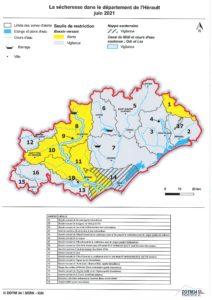 Alerte sécheresse : mise en place de mesures de restriction