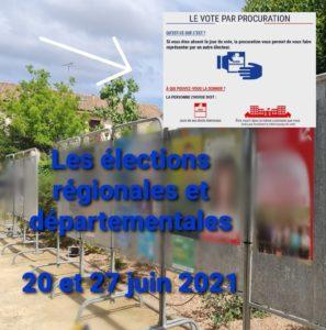 Elections des 20 et 27 juin 2021 : comment voter par procuration ?