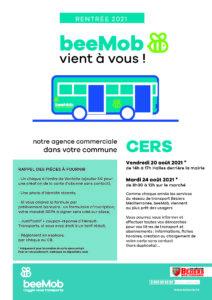 Read more about the article BeeMob : vendredi 20 et mardi 24 août sous les Halles