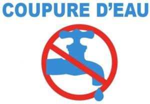 SUEZ : coupure d'eau le 25 octobre de 8h à 14h30